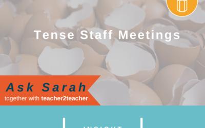 Tense Staff Meetings