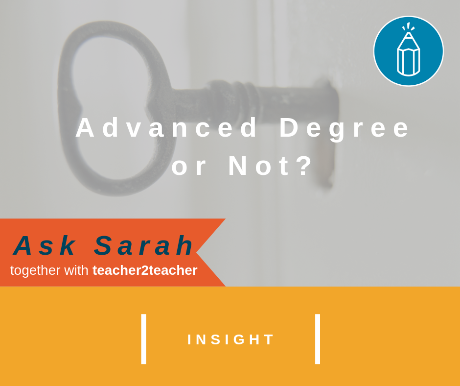 Advanced Degree or Not?