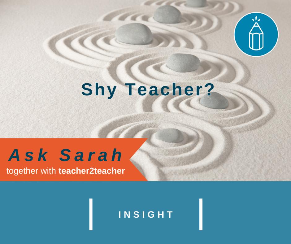 Shy Teacher?