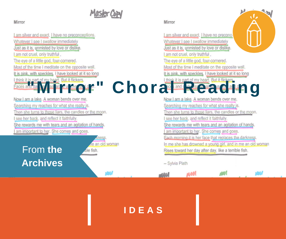 "From the Archives: ""Mirror"" Choral Reading"