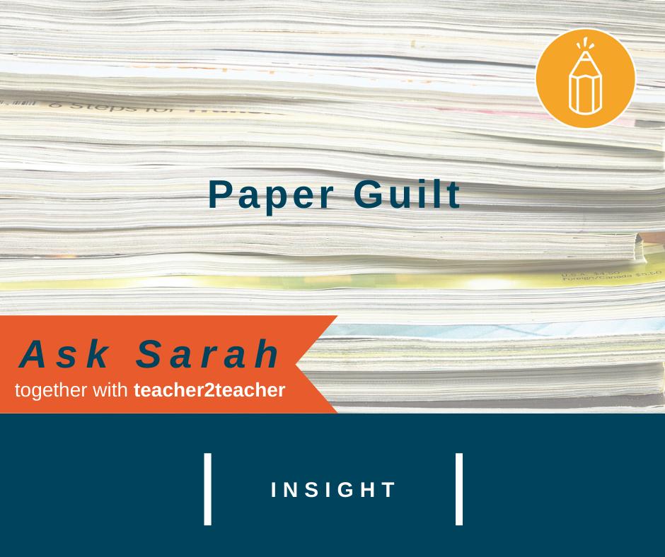 Paper Guilt
