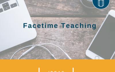 Facetime Teaching