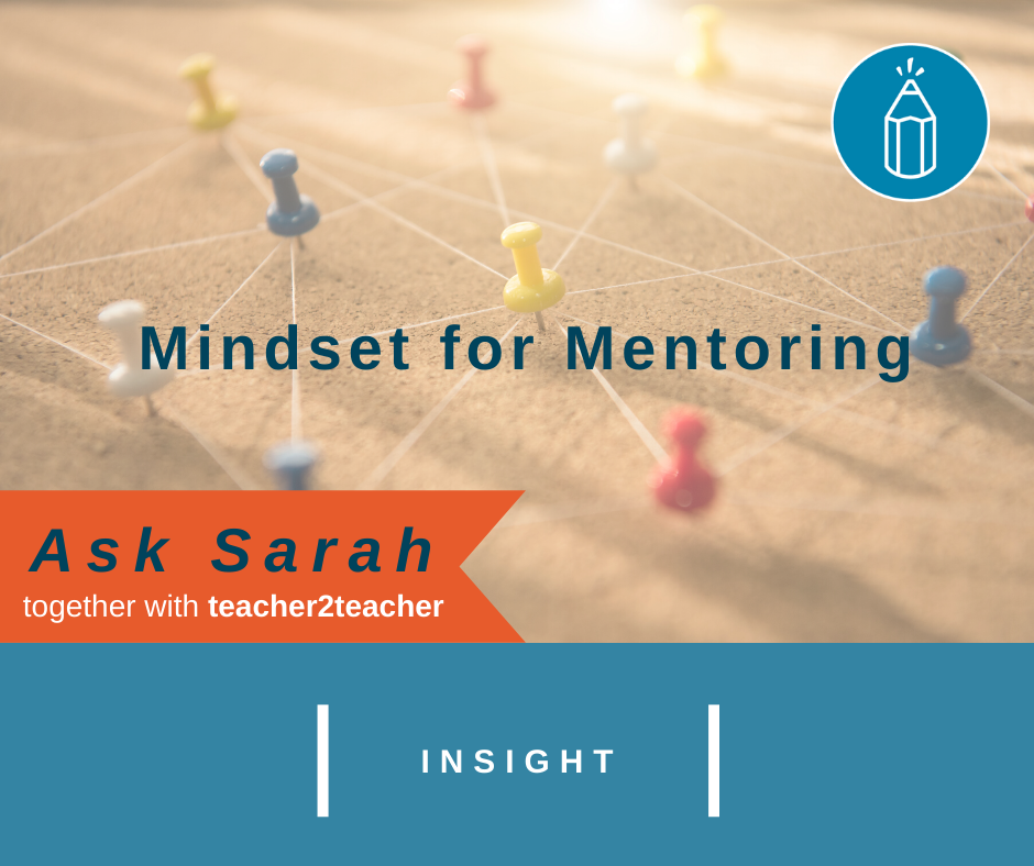 Mindset for Mentoring
