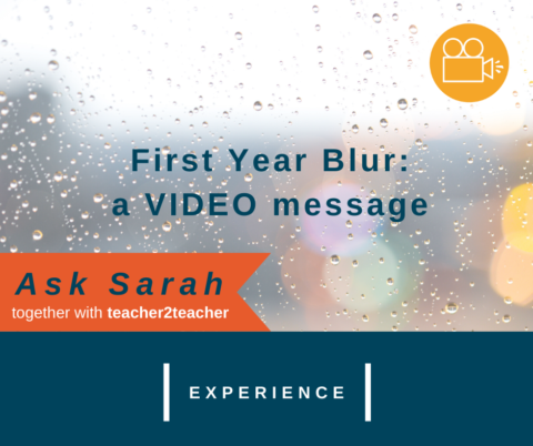 First Year Blur: a VIDEO message