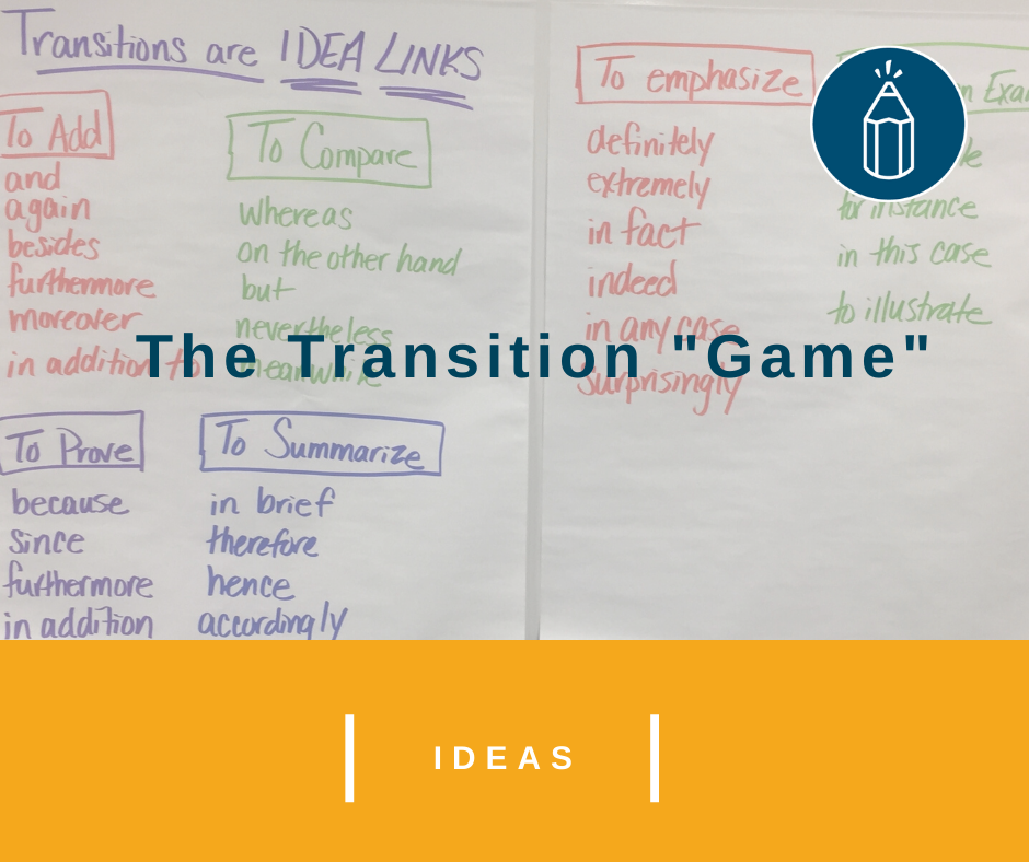 """The Transition """"Game"""""""