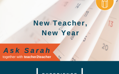 New Teacher, New Year
