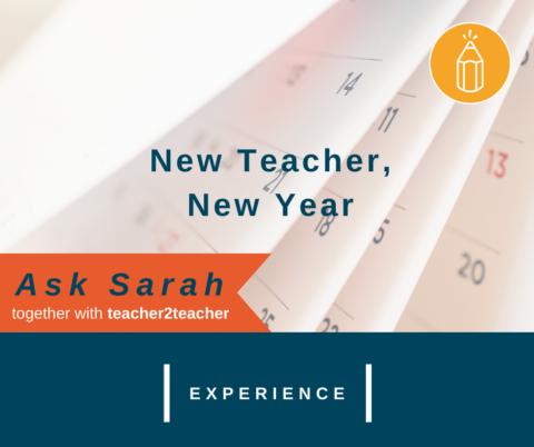 New Teacher, New Year