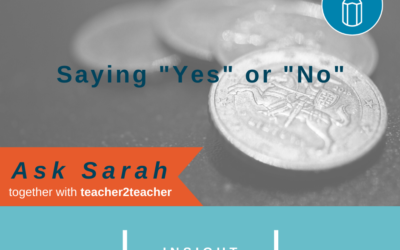 """Saying """"Yes"""" or """"No?"""""""