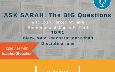 Black Male Teachers – More Than Disciplinarians