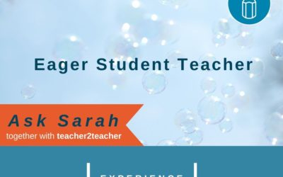 Eager Student Teacher