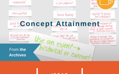 From the Archives: Concept Attainment