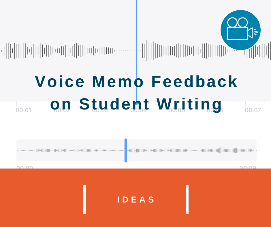 Voice Memo Feedback for Students