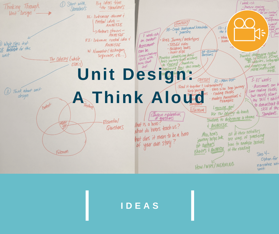 Unit Design: A Think Aloud