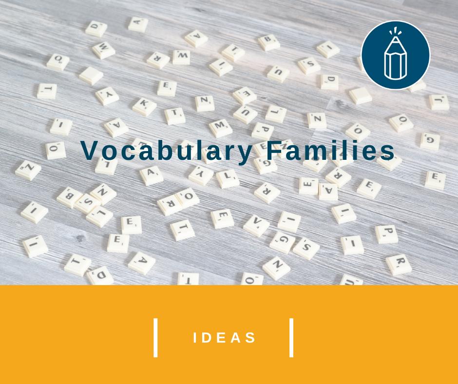 Vocabulary Families